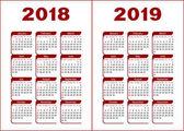 Calendar 2018 2019