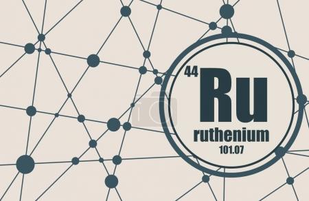 Ruthenium chemical element.