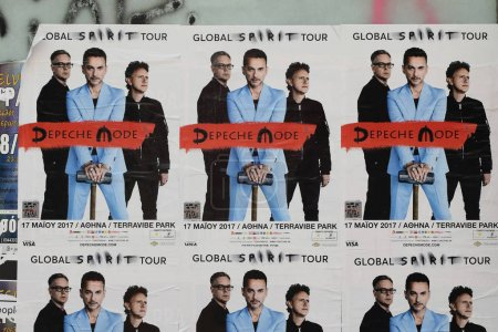 концерта Depeche плакаты режиме