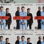 Постер, плакат: depeche mode concert posters