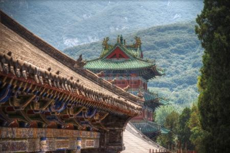 Photo pour Shaolin est un monastère bouddhiste en Chine centrale. Situé sur la montagne - image libre de droit