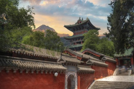 Shaolin is a Buddhist monastery in central China. ...