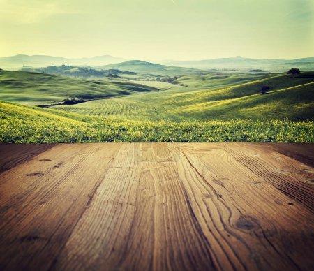 Fondo texturizado de madera