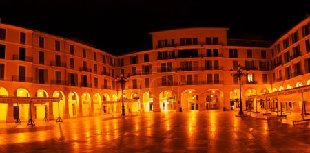 Placa Major in Palma, Majorca, Balearic, Spain