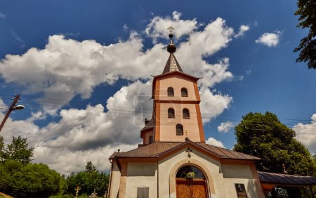 Monastery church of the Archangel Michael in Ladomirova (Ladomervagasa) is a village and municipality in Svidnik District in the Presov Region of north-eastern Slovakia.