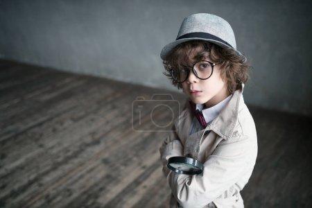 Inspector in studio