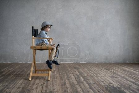 Little director indoors