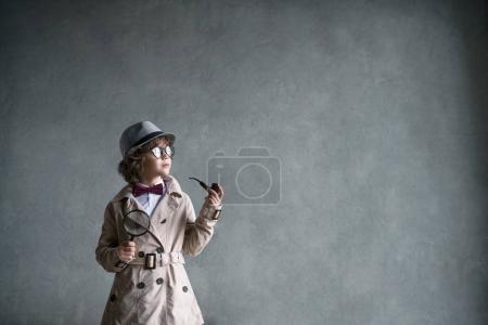Detective in studio