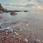 Beach near Aphrodite bath in Polis, Cyprus...
