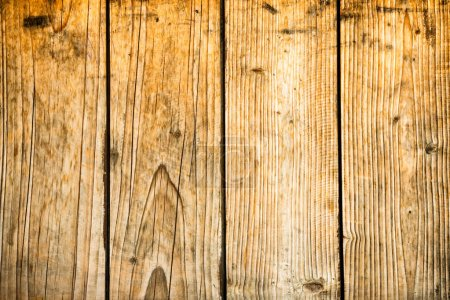 Photo for Old wood texture on wooden planks for background - Royalty Free Image