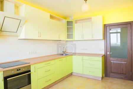 Kitchen interior in modern apartment