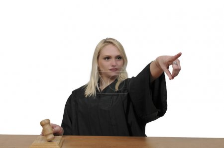 Photo pour District des femmes Appels suprêmes ou juge ou magistrat de la Cour supérieure - image libre de droit