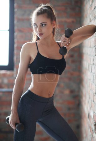 Woman doing Workout