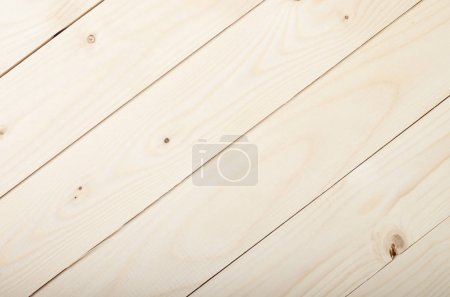 Foto de Foto primer plano del fondo natural de tablones de madera limpia luz - Imagen libre de derechos