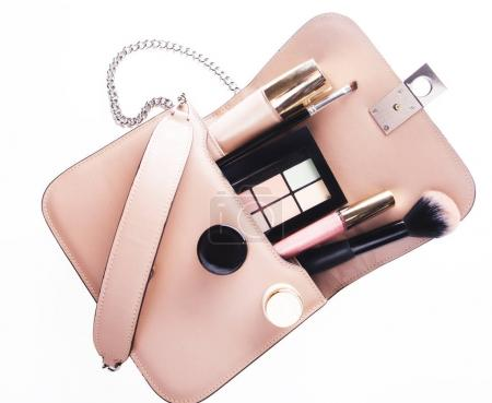 Women Fashion Bag  and Accessories for Women make up And jewelry Beauty concept