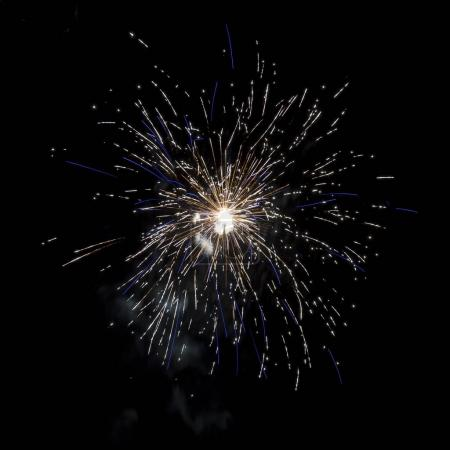 Photo for Firework at night in Hungary - Royalty Free Image