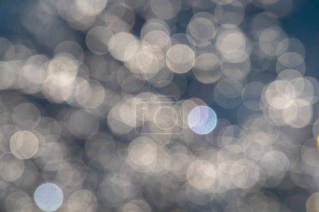 Foto de Efecto bokeh de gotas de agua. - Imagen libre de derechos