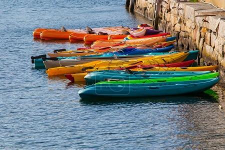 Kayaks at the Ready