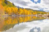 Autumn on Cushman Lake, Colorado