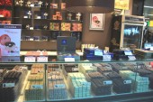 Amsterdam Schiphol Airport, the Netherlands - april 14th 2018: Leonidas Chocolate store