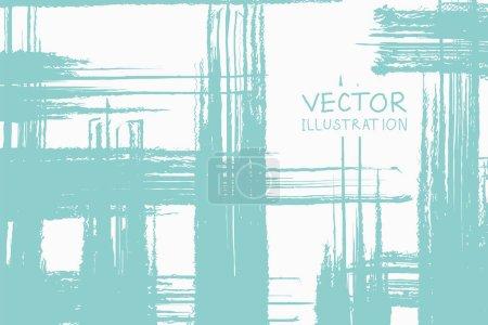 Foto de Color suave grunge rejilla tira trazos de pincel con degradado sobre un fondo claro. Ilustración de vector abstracto. - Imagen libre de derechos
