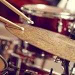 Drums conceptual image close up...