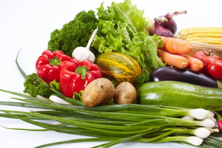 Photo for Fresh tasty  vegetables close up - Royalty Free Image