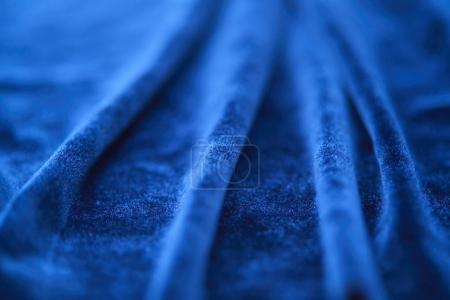blue soft textile