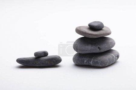 Black sea stones