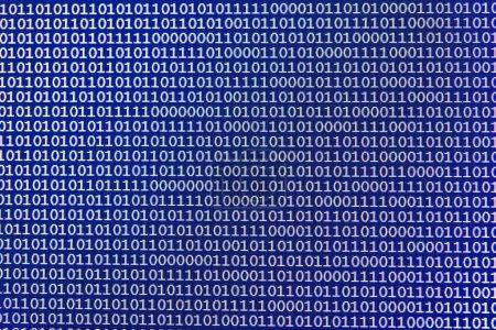 Photo pour Programmation écran abstrait code de développeur de logiciels, concept de script ordinateur - image libre de droit
