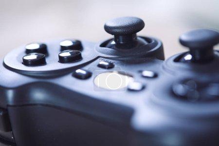 Photo pour Nouveau contrôleur de jeu vidéo, gros plan - image libre de droit