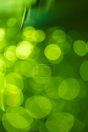 abstract bright green blur background