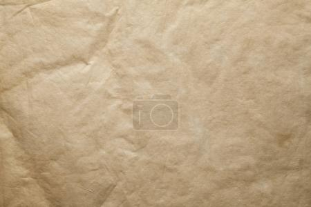 Foto de Hoja de papel arrugado a mano - fondo o textura - Imagen libre de derechos