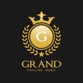 Letter G Logo - Classic Luxurious Style Logo Template