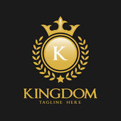 Letter K Logo - Classic Luxurious Style Logo Template