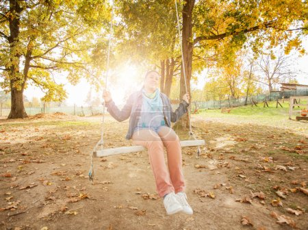 Woman relax outdoor