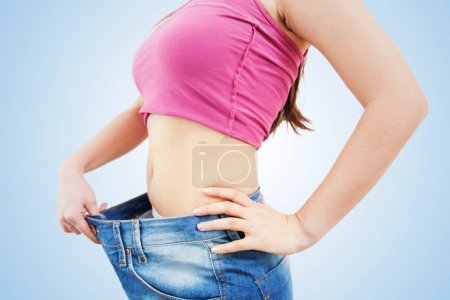 Slim Fit Woman Weight Loss