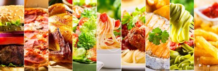 Photo for Collage of various food products - Royalty Free Image