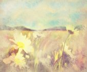watercolor, landscape, spring, flower, background, illustration, nature, floral, art, tree, flowers, drawing, painting, design, scenery, summer, artwork, watercolour, picture, garden, abstract, colorf