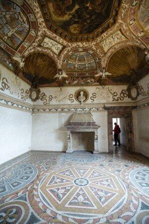 MANTUA, ITALY - MAY 2, 2016:  Palazzo Te in Mantua...