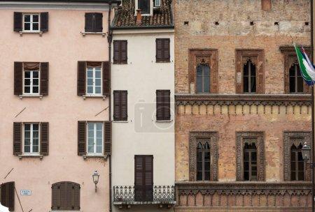 MANTUA, ITALY - MAY 2, 2016: The historic city cen...
