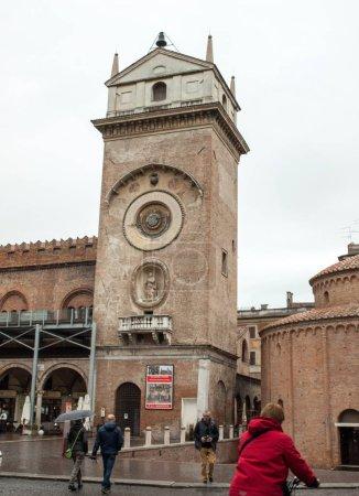 MANTUA, ITALY - MAY 2, 2016: The Palazzo della Rag...
