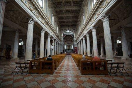 MANTUA, ITALY - MAY 2, 2016: Interior of  Cathedra...