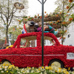 Noordwijkerhout, Netherlands - April 21,  2017: Pl...