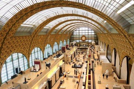 Paris, France - November 2017:  the museum D'Orsay...
