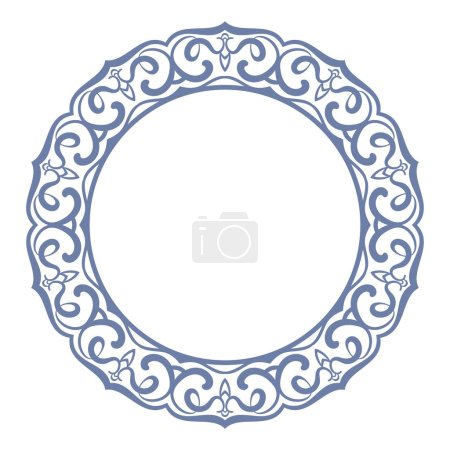 Circular ornament design elements