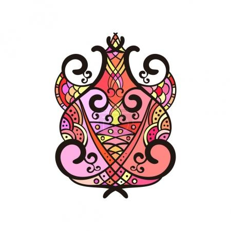 abstract ethnic ornament