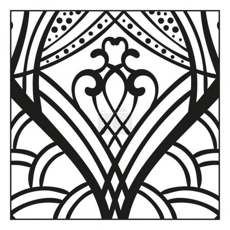 ethnic ornamental pattern