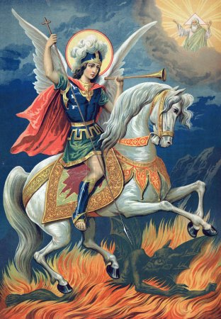 Icon of the great Martyr St. George the victorious.