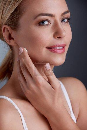 beauty Woman face skincare